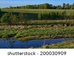 the derzha river in tver region ... | Shutterstock . vector #200030909