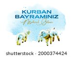 feast of the sacrif  eid al... | Shutterstock .eps vector #2000374424