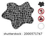 mosaic dirt spot icon united...   Shutterstock .eps vector #2000571767
