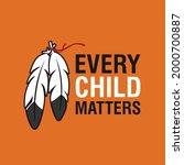every child matters logo design....   Shutterstock .eps vector #2000700887