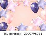 happy birthday congratulations...   Shutterstock .eps vector #2000796791