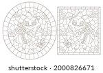 a set of contour illustrations...   Shutterstock .eps vector #2000826671