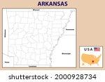 arkansas map. political map of... | Shutterstock .eps vector #2000928734