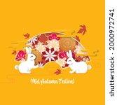 chinese mid autumn festival...   Shutterstock .eps vector #2000972741