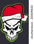 Santa Skull