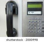 street phone | Shutterstock . vector #2000998