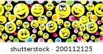 colorful seamless pattern of... | Shutterstock .eps vector #200112125