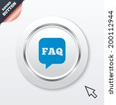faq information sign icon. help ...