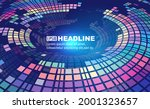 colorful square composition...   Shutterstock .eps vector #2001323657