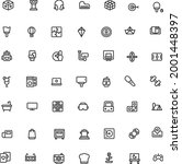 activity and hobbies icon pack...