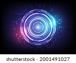 abstract hologram high tech...
