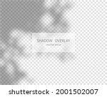 shadow overlay effect. natural...   Shutterstock .eps vector #2001502007