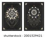 vector dark illustrations with...   Shutterstock .eps vector #2001529421