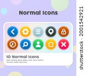 normal icon design for icons on ...