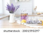 preparation of fresh lavender...   Shutterstock . vector #2001593297