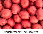 bushel of red potatoes | Shutterstock . vector #200159795