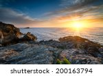 Sunset Over The Atlantic From...