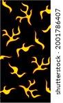 smoke explode effect fire... | Shutterstock .eps vector #2001786407