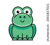 toad icon. icon design.... | Shutterstock .eps vector #2001827021