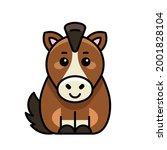 horse icon. icon design.... | Shutterstock .eps vector #2001828104