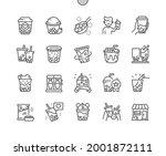 bubble tea. tapioca pearls....   Shutterstock .eps vector #2001872111