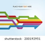 arrow teamwork | Shutterstock .eps vector #200192951
