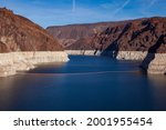 A prolonged drought in the West, the reservoir created by the Hoover Dam, pictured here in 2010, sunk to its lowest level ever raising concerns about reduced output from the dam's hydroelectric plan.