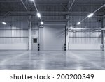roller shutter door and... | Shutterstock . vector #200200349