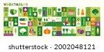 set of vegetables illustrations ...   Shutterstock .eps vector #2002048121