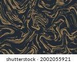 silver black aqua vector ink.... | Shutterstock .eps vector #2002055921