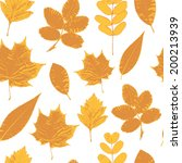 vector seamless pattern with... | Shutterstock .eps vector #200213939