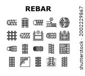 rebar construction collection...   Shutterstock .eps vector #2002229867