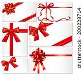 gift bows | Shutterstock . vector #200228714
