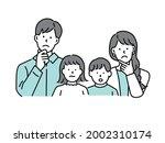 family illustrations.husband... | Shutterstock .eps vector #2002310174