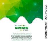 abstract creative concept...   Shutterstock .eps vector #200242961