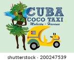 brazilian carnival girls with... | Shutterstock .eps vector #200247539