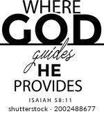 gospel verses  christian poster ... | Shutterstock .eps vector #2002488677