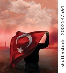 Small photo of 15 July Democracy and National Unity Day Poster Design