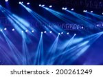 vector stage spotlight with... | Shutterstock . vector #200261249