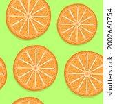 summer background with oranges. ...   Shutterstock .eps vector #2002660754