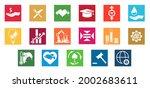 sdgs vector icon card on... | Shutterstock .eps vector #2002683611