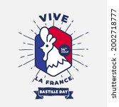 Banner Illustration Of Bastille ...