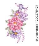 watercolor illustration ... | Shutterstock . vector #200275424