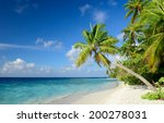 tropical beach | Shutterstock . vector #200278031