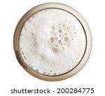 beer from the top | Shutterstock . vector #200284775