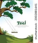 illustration of indian... | Shutterstock .eps vector #2002881641