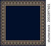 decorative frame elegant vector ...   Shutterstock .eps vector #2002897601