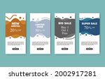 set collection of 6 trendy...   Shutterstock .eps vector #2002917281