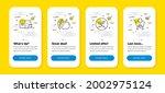 vector set of apple  startup...