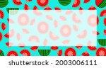 national watermelon day....   Shutterstock .eps vector #2003006111